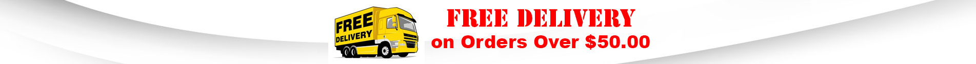Free Delivery On Orders Over $50.00