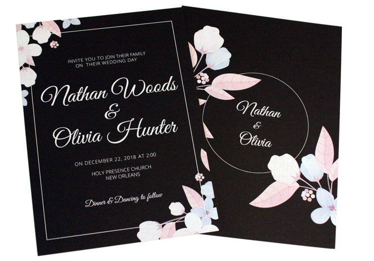 custom invitation printing services phoenix glendale