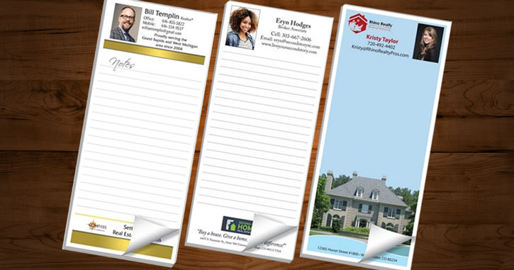 Realtor Notepads | Custom Notepads | Scratch Pads