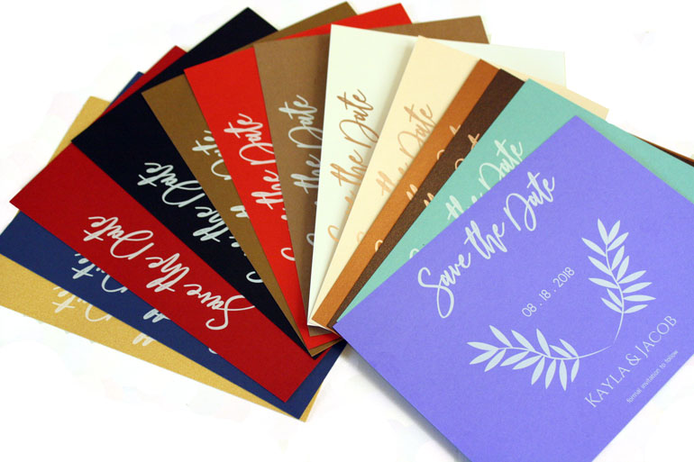 Invitations | Foil Stamping